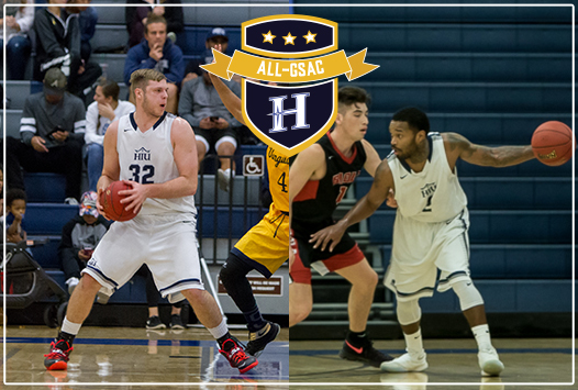 Liam Hunt and Donny Punter were each named All-GSAC (Original photos by Liza Rosales)